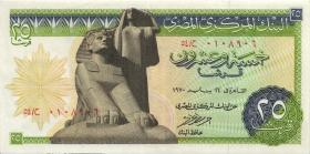 Ägypten / Egypt P.42a 25 Piaster 1970 (2)