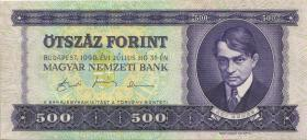 Ungarn / Hungary P.175 500 Forint 1990 (3)
