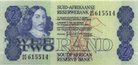 Südafrika / South Africa P.118b 2 Rand (1981) (1)