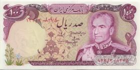 Iran P.102b 100 Rials (1974-79) (1)