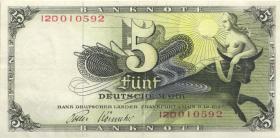 R.252c 5 DM BDL 1948 Europa (3+) Serie 12