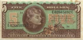 USA / United States P.M96 5 Dollars (1970) (2)