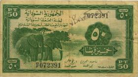 Sudan P.02B 50 Piaster 1956 (3)