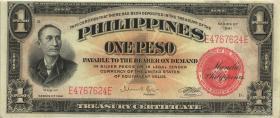 Philippinen / Philippines P.089a 1 Pesos 1941 (1)