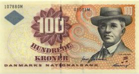 Dänemark / Denmark P.56c 100 Kronen 2001 (1)
