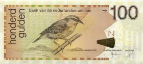 Niederl. Antillen / Netherlands Antilles P.31g 100 Gulden 2013 (1)