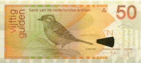 Niederl. Antillen / Netherlands Antilles P.30c 50 Gulden 2003 (1)