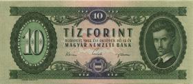 Ungarn / Hungary P.168c 10 Forint 1962 (1)