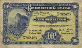Gibraltar P.14 10 Shillings 1942 (4)