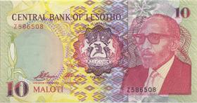 Lesotho P.11r 10 Maloti 1990 Z replacement (1)