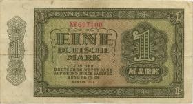 R.340c 1 DM 1948 XV 6-stellig Ersatznote (3)