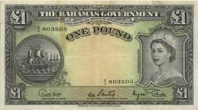 Bahamas P.15d 1 Pound (1953) (3)