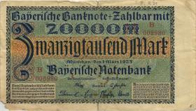 R-BAY 7b: 20.000 Mark 1923 Serie B (5)