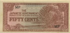 Malaya-Jap.Besetzung P.M 04b 50 Cents (1942) (1)