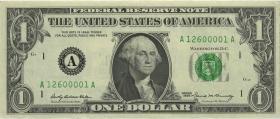 USA / United States P.449e 1 Dollar 1969 (1)