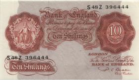 Großbritannien / Great Britain P.368b 10 Shillings (1949-55) (1)