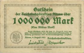 PS1111 Reichsbahn Altona 1.000.000 Mark 1923 (3)