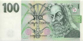 Tschechien / Czech Republic P.18a 100 Kronen 1997 C (1)