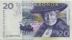 Schweden / Sweden P.61b 20 Kronen 1994 (2)