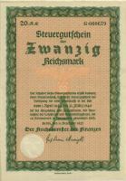 Steuergutschein 20 Reichsmark 1937 (1944) (1)
