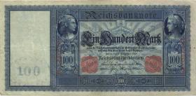 """R.038 100 Mark 1909 """"Flottenschein"""" (3+)"""