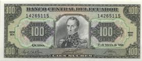 Ecuador P.123Ac 100 Sucres 1994 (1)