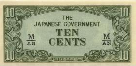 Malaya-Jap.Besetzung P.M 03b 10 Cents (1942) (1)