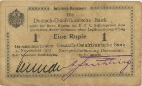 R.916j: 1 Rupie 1915 R Behrendt (3+)