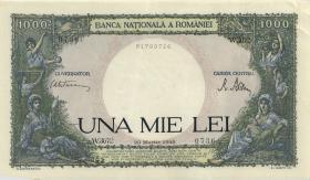 Rumänien / Romania P.052 1000 Lei 1945 (1)
