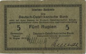 R.910c: 5 Rupie 1915 C (3-) 00751
