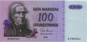 Finnland / Finland P.109 100 Markkaa 1976 (1)