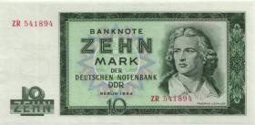 R.355b 10 Mark 1964 ZR Ersatznote  (1)
