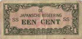 Ndl. Indien / Netherlands Indies P.119a 1 Cent (1942) (3)