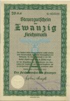 Steuergutschein 20 Reichsmark 1937 (1942) (1)