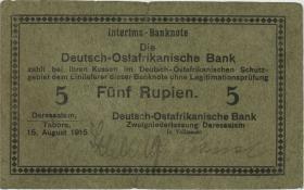 R.910i: 5 Rupie 1915 C (3-)