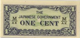 Malaya-Jap.Besetzung P.M 01b 1 Cent (1942) (1)
