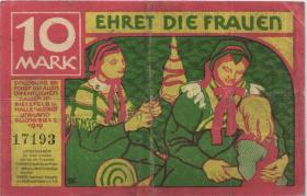 Bielefeld 10 Mark 1919 Ehret die Frauen (3)