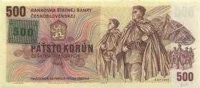Tschechien / Czech Republic P.02 500 Kronen (1993) U (1)