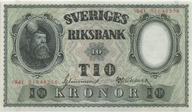Schweden / Sweden P.40b 10 Kronen 1941 (1)