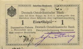 R.916h: 1 Rupie 1915 Q (1)