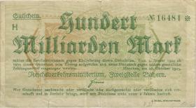PS1108b Reichsbahn München 100 Milliarden Mark 1923 (3)