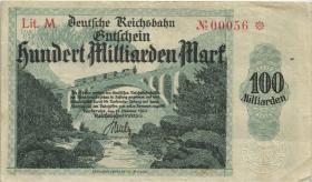 PS1272 Reichsbahn Karlsruhe 100 Milliarden Mark 1923 (3)