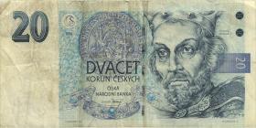 Tschechien / Czech Republic P.10b 200 Kronen 1994 (3)