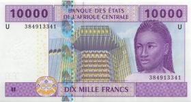 Zentral-Afrikanische-Staaten / Central African States P.210Uc 10.000 Francs 2002 Kamerun (1)