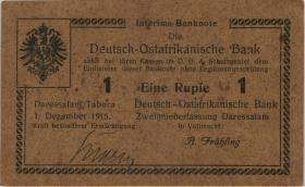 R.925i: Deutsch-Ostafrika 1 Rupie 1915 L (1-)