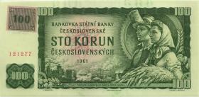 Tschechien / Czech Republic P.01l 100 Kronen (1993) M Kuponausgabe (1)