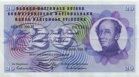Schweiz / Switzerland P.46 20 Franken 1967-1974 (2)