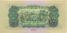 Südvietnam / Viet Nam South P.41s 2 Dong 1966 (1975) (1/1-)
