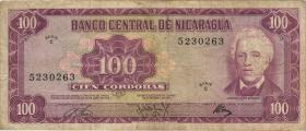 Nicaragua P.126 100 Cordobas 1972 (3)