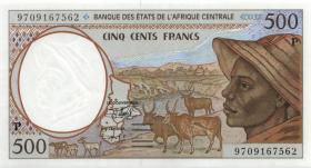 Zentral-Afrikanische-Staaten / Central African States P.601Pd 500 Francs 1997 (1)